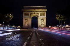 L'Arc de Triomphe; taken along avenue Champs-Élysées. | Paris Travel