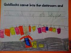 Goldilocks writing