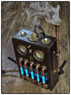 Steampunk Backpack 8 by flosvensson.deviantart.com on @deviantART