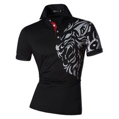 Short Sleeves Slim Fit Polo Shirt //Price: $18.04 & FREE Shipping //     #coupon