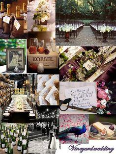 Vineyard Wedding Inspiration
