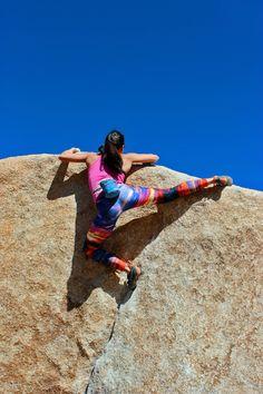 Joshua Tree National Park #bouldering #climbing (Natalie Duran)