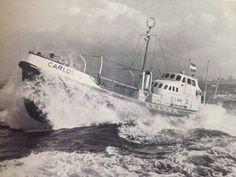 KNRM @knrm Uit de oude doos. Reddingboot Carlot bij proefvaart in 1960. #KNRM