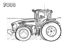 25 Best Tractor Coloring Pages To Print http://procoloring.com/25-best-tractor-coloring-pages-to-print/