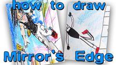 How to draw Mirror's Edge Faith