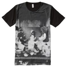 Shop Black and white photo All-Over-Print T-Shirt created by ZierNorShirt. Personalize it with photos & text or purchase as is! Types Of T Shirts, Cool T Shirts, T Shirt Photo, Personalized T Shirts, Shirt Style, Black And White, Cool Stuff, Mens Tops, Fashion Design