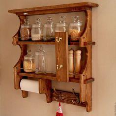 Мебель ручной работы. Заказать Полка кухонная