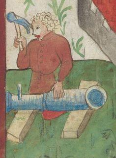 Kriegstechnik (Bilderhandschrift) Oberrhein · um 1420-1440 Ms. Rh. hist. 33b  Folio 15r