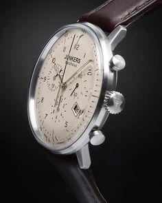 Junkers Bauhaus 6086-5 Chronograph Inset