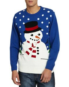 Blue Christmas Jumper, €25, Dunnes Stores --- (I want a tacky Christmas jumper, but I can never afford to get one..)