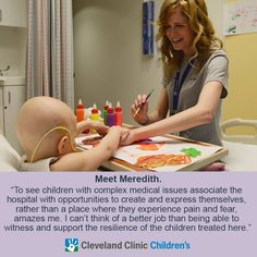 Cleveland Clinic Art Therapy Program: Art Therapist Meredith McCulloch