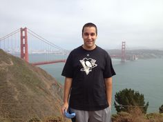 Twitter fan @mikeandnotike is representing his Pens on vacation in California. #IsItOctoberYet