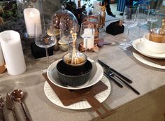 Ideas for a table setting - Kattausidoita