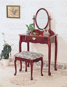 Queen Anne Makeup Vanity Table