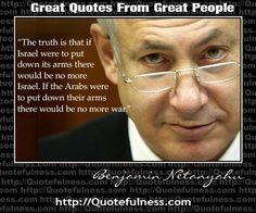 Bibi Netanyahu Quote Great Quotes, Inspirational Quotes, Epic Quotes, Famous Quotes, Motivational, Benjamin Netanyahu, Torah, God Bless America, Wise Words