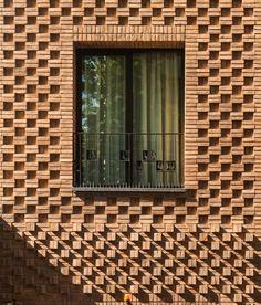 Орнаментная кладка кирпичного фасада | Оригинальные архитектурные и интерьерные решения