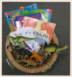 """Activities linked with dinosaurs in the Early Years classroom - from Rachel ("""",) Preschool Layout, Preschool Classroom, Classroom Themes, Dinosaur Classroom, Forest School Activities, Eyfs Activities, Activities For Kids, Activity Ideas, Dinosaurs Eyfs"""