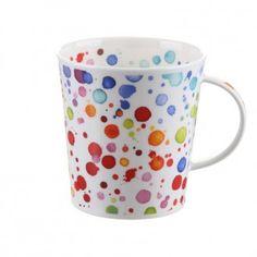 Znalezione obrazy dla zapytania Dunoon bone china mug DOTS Coffee Shop Signs, China Mugs, Black Coffee, Bone China, Tea Pots, Kitchen Decor, Dots, Shapes, Tableware