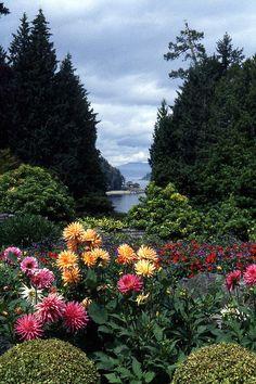 Butchart Garden Vista - Victoria, BC