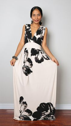 Hey, I found this really awesome Etsy listing at https://www.etsy.com/listing/217239018/floral-maxi-dress-cross-over-front-dress