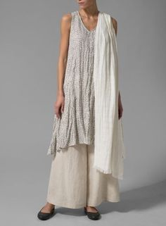 1000+ images about Lagenlook on Pinterest | Linen tunic, Tunics ...