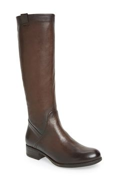 Free shipping and returns on MANAS DESIGN 'Fiorella 0607' Leather Riding Boot (Women) at Nordstrom.com. Clean, uncomplicated lines elevate the aesthetic of a smooth leather riding boot set on a chunky stacked heel.