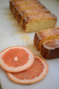grapefruit cake   http://traceysculinaryadventures.com/2012/03/glazed-grapefruit-cake.html#.UflNmWQatcM