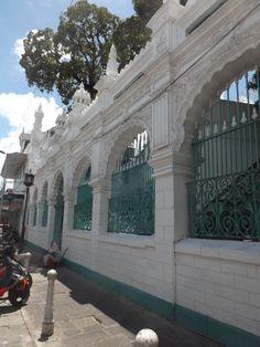 The Jummah Mosque in Port-Louis, capital city of Mauritius