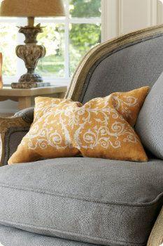 Tuscan Scroll Pillow