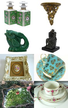 #vogueteam #etsygift Vintage Home Design Vogueteam Treasury by Kristen on Etsy--Pinned with TreasuryPin.com