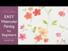 How to Paint Flowers in Watercolor - Tulip Jay Lee is a specialized watercolor artist. Jay Art videos are showing how to paint creative arts with watercolor ...