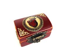 Anatomical Heart Engagement Ring Box in by TheLysineContingency