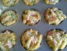 Nudelmuffins - Rezept - ichkoche.at