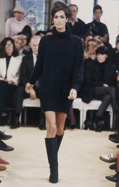Yasmeen Ghauri - Prada Spring/Summer 1992