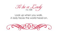Aww...that is so nice! :) <3 {And reminds me not to look down on myself!}