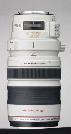 #Canon's EF 28-300 mm USM L IS Lens