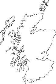scotland map outline - Google Search