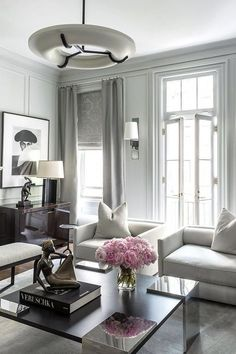 Do you like a simple and neat living room? Check this list of neutral living room ideas out that will inspire you to get a cool and airy room! Contemporary Interior Design, Luxury Interior Design, Modern Design, New Living Room, Living Room Decor, Cozy Living, Bedroom Decor, Interior Minimalista, Luxury Home Decor