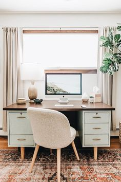 Home Office Inspiration, Room Inspiration, Office Inspo, Home Interior, Interior Design, Aesthetic Rooms, Home And Deco, Home Office Decor, My New Room