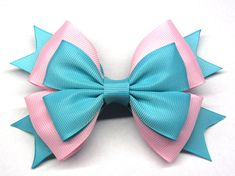 Pink mint bow For baby hair clip The size bows of 4.5 inches by 3 inches. Do not wash in a washing machine, only hand wash! After payment I will quickly send the order! Estimated shipping times North America: 2-6 weeks Europe: 1-4 weeks Australia, New Zealand and Oceania: 2-6