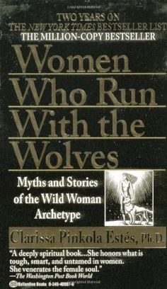 Women Who Run with the Wolves by Clarissa Pinkola Estés / Classic read / In WOMEN WHO RUN WITH THE WOLVES, Dr. Estés unfolds rich intercultural myths, fairy tales, and stories, many from her own family, in order to help women reconnect with the fierce, healthy, visionary attributes of this instinctual nature. / Ex Libris <3 I loved this book