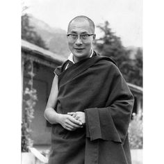1967: The Dalai Lama is pictured in the garden of his exile residence at Dharamsala, Northern India. In exile, the Dalai Lama proved masterful at keeping the plight of the Tibetan people in the wider public consciousness, persuading the UN General Assembly to adopt resolutions in 1959, 1961 and 1965 calling for the protection of the Tibetan people.