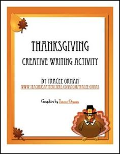 """FREE LANGUAGE ARTS LESSON - """"Free download: Thanksgiving Creative Writing Activity"""" - Go to The Best of Teacher Entrepreneurs for this and hundreds of free lessons. 4th - 12th Grade #FreeLesson  #LanguageArts  #Thanksgiving  http://www.thebestofteacherentrepreneurs.com/2015/10/free-language-arts-lesson-free-download.html"""