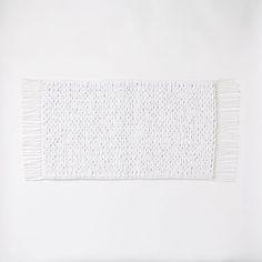 Mixed Weave Bath Mat | West Elm - for kitchen