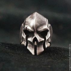 Купить Кольцо шлем Гладиатора из серебра 925 - кольцо db03bc32186db