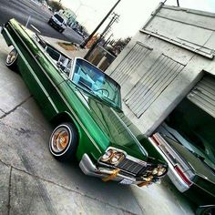 1964 Chevy Impala lowrider. #chevroletimpala1964