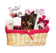 Dolls house miniatures easter gift hamper gift hamper ideas chocolates personalised chocolate gifts online delivered ireland uk usa easter chocolate hamper negle Image collections