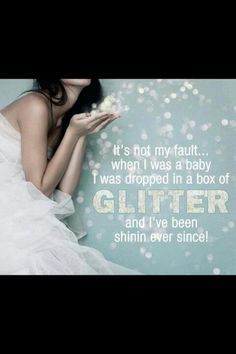 Glitter!- love this use of glitter in the photo!  sparkle, sparkle,sparkle!