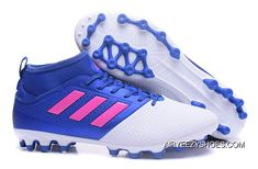 c988b4fbb0ea Adidas ACE 17.3 PRIMEMESH AG White Blue Free Shipping