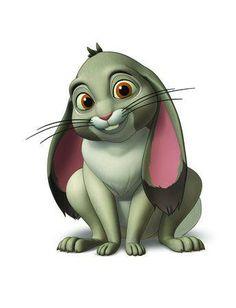 Clover Sofia the First Disney Junior Blue Ribbon Bunny ♡ Disney ♡